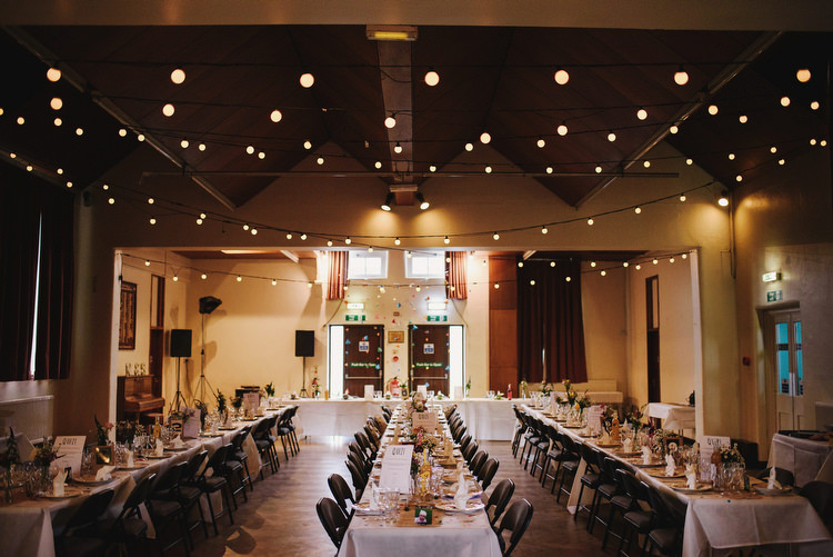 Festoon Lights Diy Decor Creative Crafty Village Hall Wedding Http Andygaines