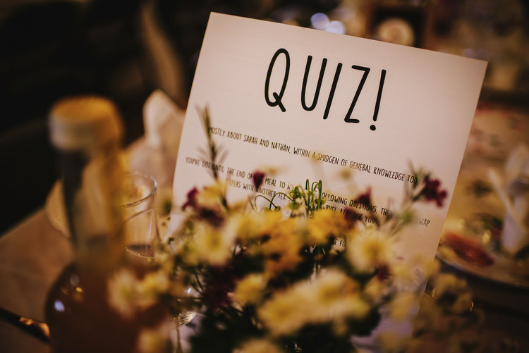 Quiz Creative Crafty Village Hall Wedding http://andygaines.com/