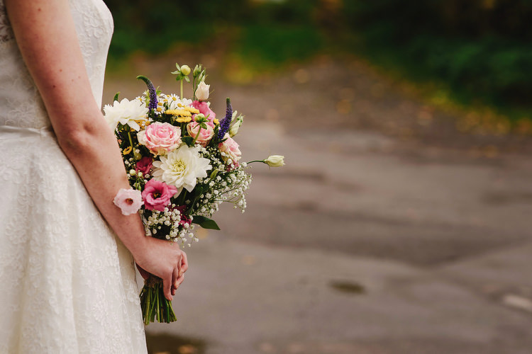 Wild Natural Bouquet Flowers Bride Bridal Creative Crafty Village Hall Wedding http://andygaines.com/