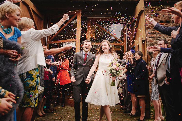 Confetti Creative Crafty Village Hall Wedding http://andygaines.com/
