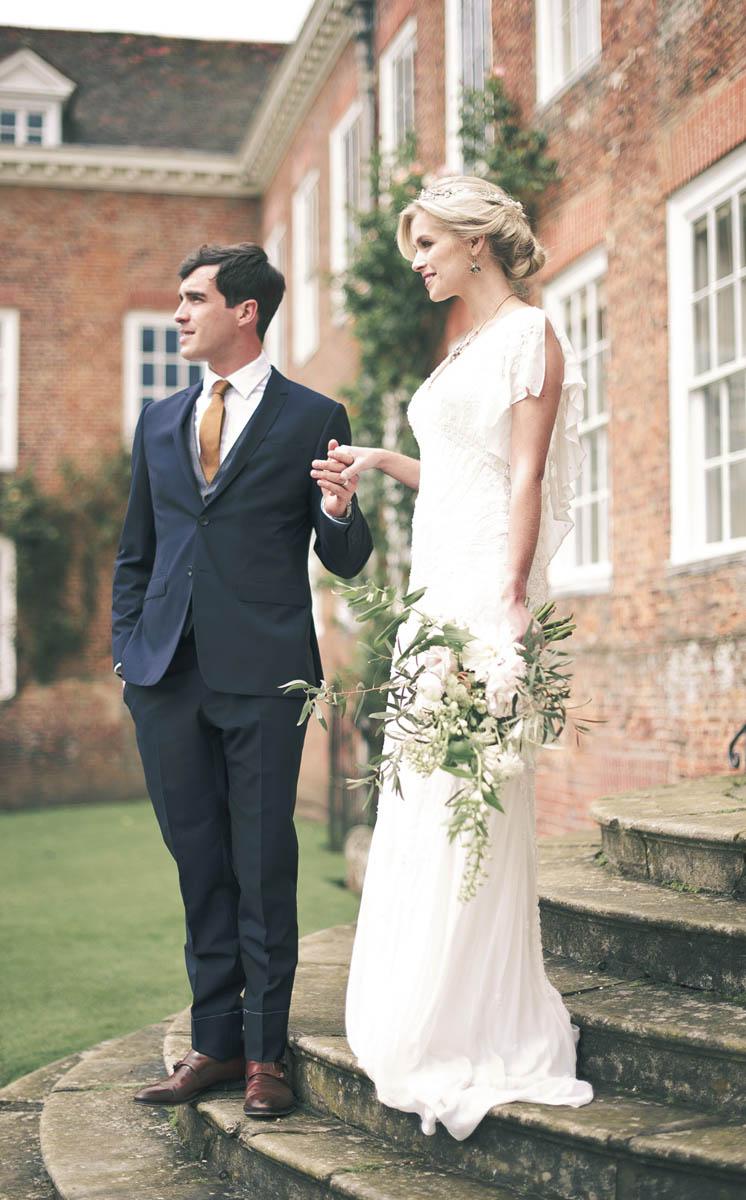 Eliza Jane Howell Beaded Dress Gown Bride Bridal Beautiful Classic Luxe Wedding Ideas https://divinedayphotography.com/