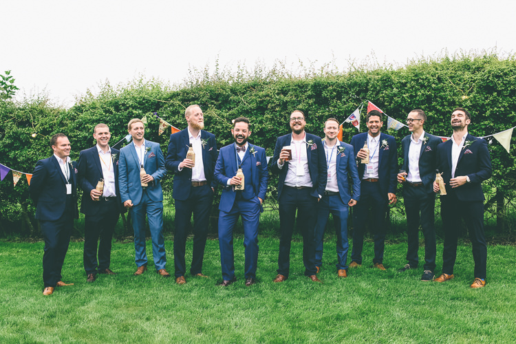 Mismatched Groomsmen Home Made Glastonbury Festival Wedding http://www.emmaboileau.co.uk/