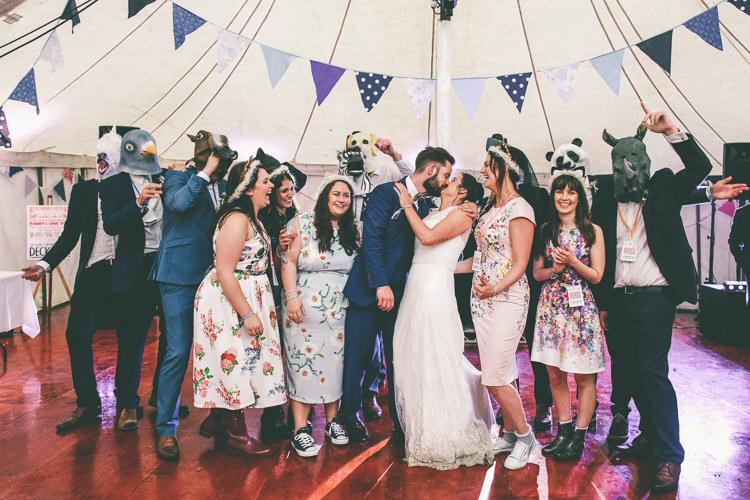 Home Made Glastonbury Festival Wedding http://www.emmaboileau.co.uk/