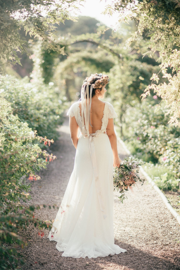 Fine Art Boho Luxe Garden Wedding Ideas