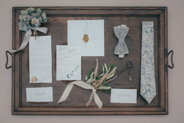 Stationery Invitations Fine Art Boho Luxe Garden Wedding Ideas http://www.lucygphotography.co.uk/