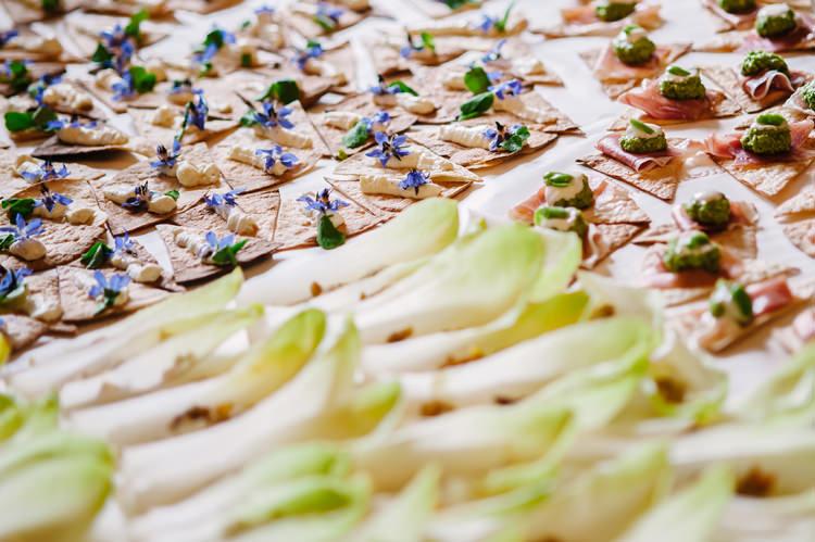Canapes Big Top Farm Party Wedding http://www.robinstudios.com/