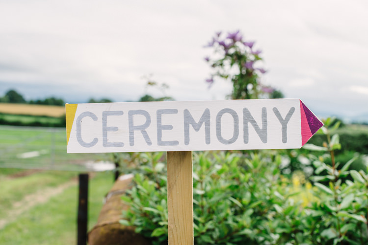 Sign Post Wooden Painted Big Top Farm Party Wedding http://www.robinstudios.com/