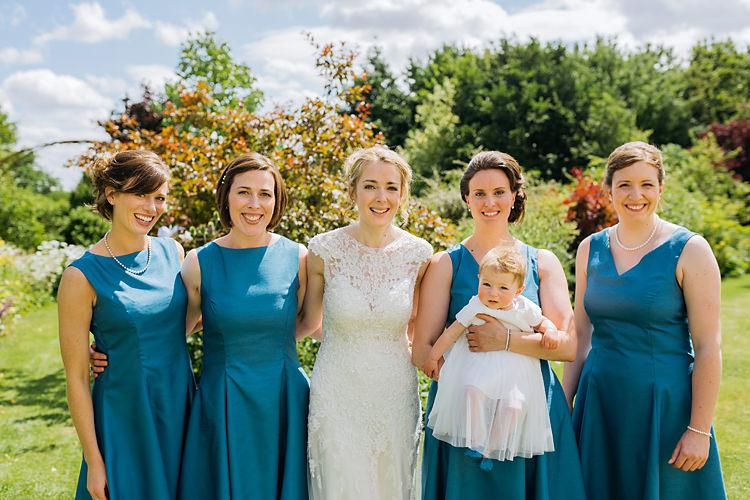 Blue Bridesmaid Dresses Home Made DIY Fun & Games Tipi Wedding http://jamesandlianne.com/