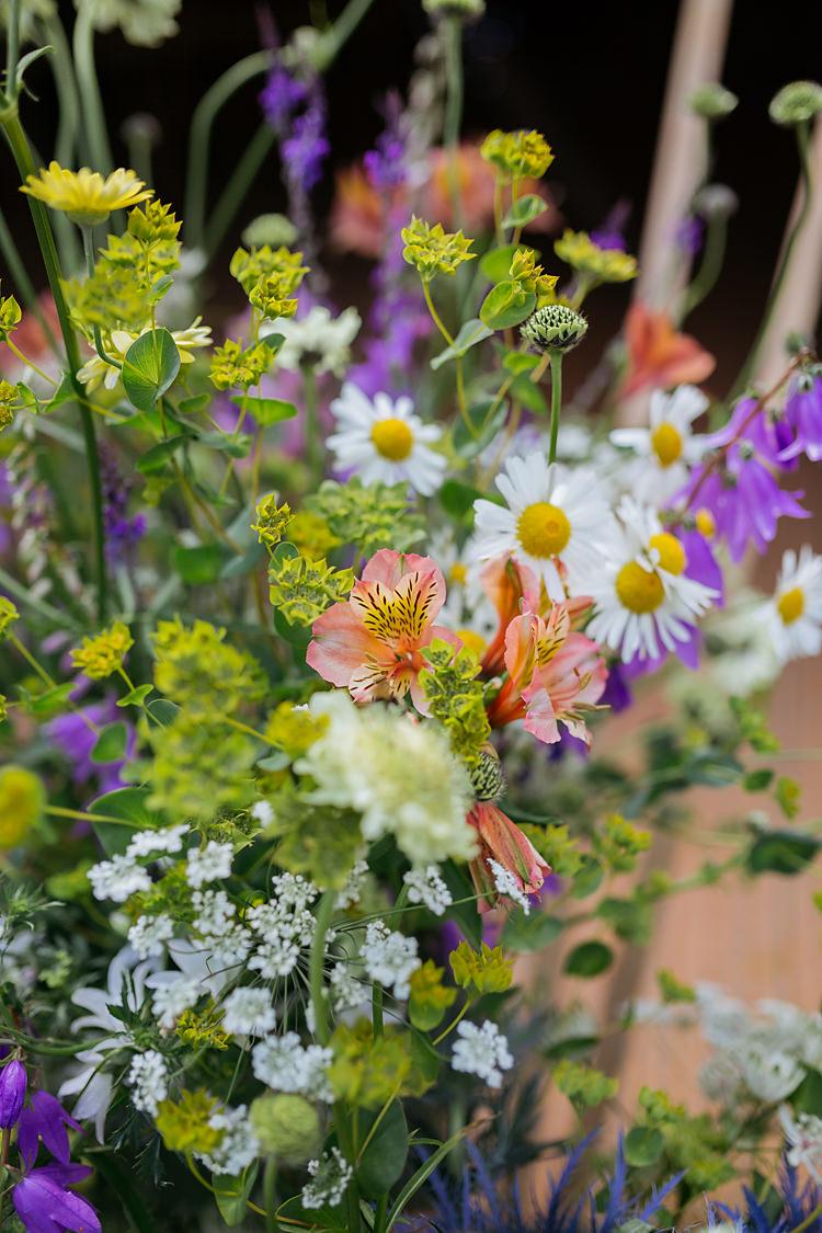 Seasonal Flowers UK Summer Home Grown DIY Fun & Games Tipi Wedding http://jamesandlianne.com/