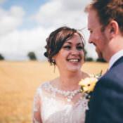 Outdoorsy & Rustic Sunflowers Wedding