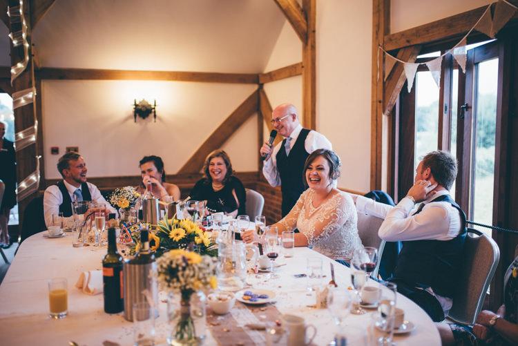 Outdoorsy Rustic Sunflowers Wedding http://www.helenjanesmiddy.com/