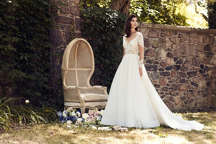 Paloma Blanca Spring 2017 Collection Wedding Dress Bridal