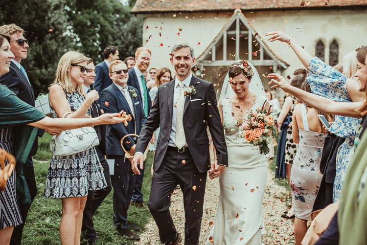 Confetti Throw Beautiful Stylish Country Marquee Wedding http://jesssoperphotography.com/