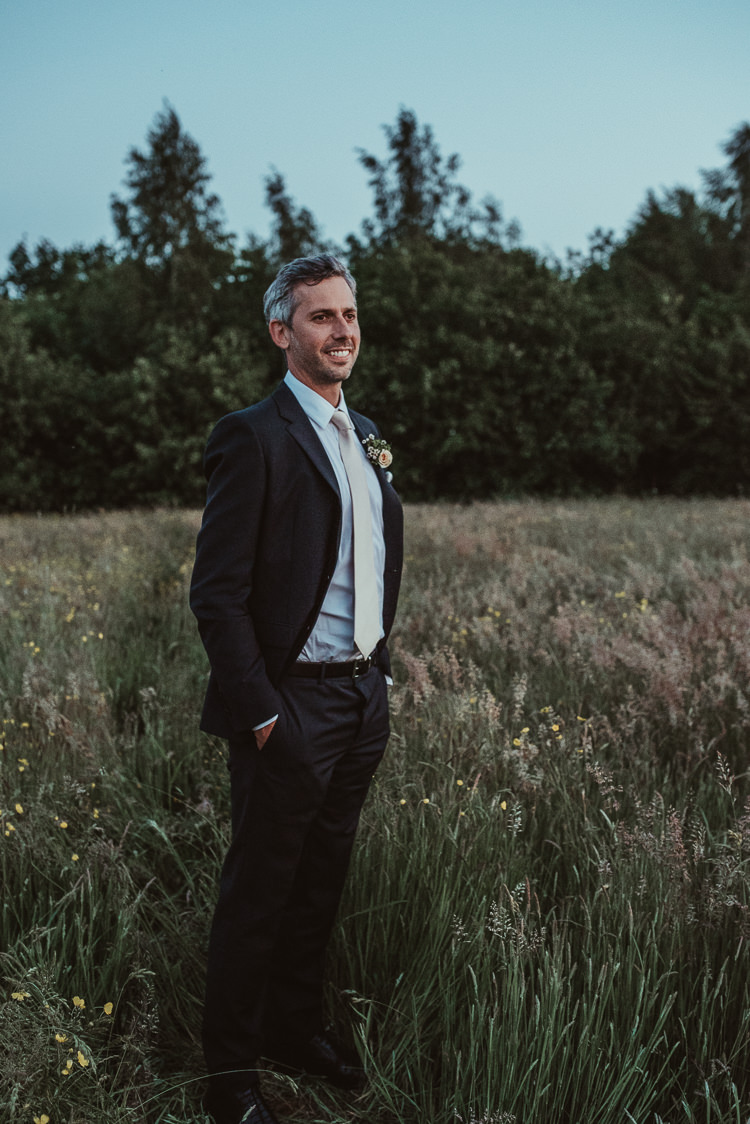 Prada Suit Groom Beautiful Stylish Country Marquee Wedding http://jesssoperphotography.com/