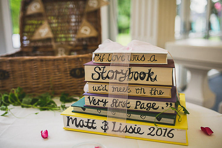 Books Sign Story Colourful Midsummer Night's Dream Party Wedding http://thespringles.com/