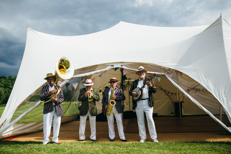 Jazz Band Magical Midsummer Night's Dream Wedding http://www.beatriciphotography.co.uk/