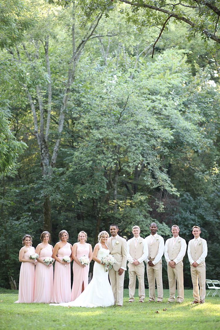 Soft Romantic Woodland Wedding Tennessee http://www.jessicaleephotographicart.com/