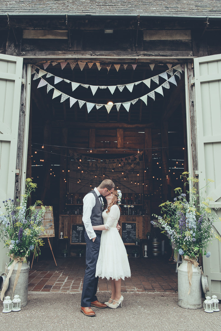 Rustic Home Made Country Barn Wedding