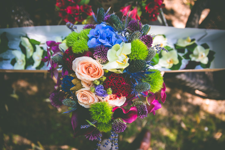 Boquet Colourful Flowers Bride Bridal Magical Outdoor Garden Festival Wedding http://realsimplephotography.net/