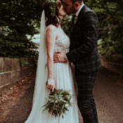 Enchanted Forest Feel Natural Greenery Wedding