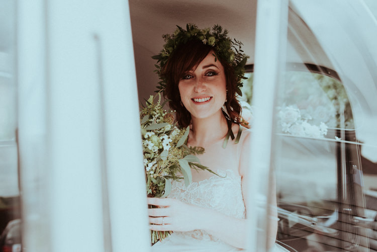 Flower Crown Foliage Greenery Bride Bridal Enchanted Forest Natural Wedding http://photo.shuttergoclick.com/