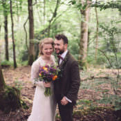 Hand Crafted Vintage Woodland Wedding