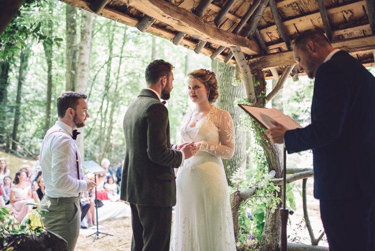 Hand Crafted Vintage Woodland Wedding http://www.jennawoodward.com/