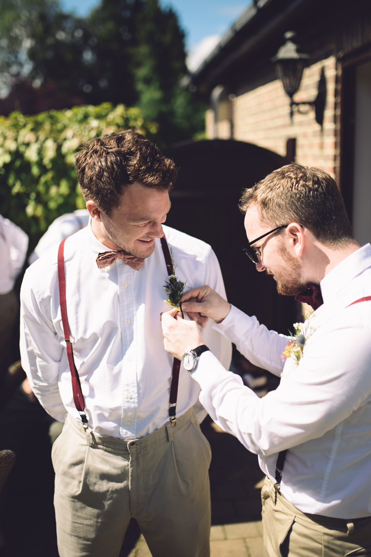 Bow Tie Braces Groomsmen Hand Crafted Vintage Woodland Wedding http://www.jennawoodward.com/
