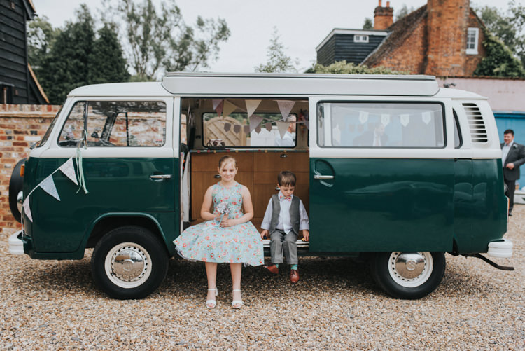 VW Campervan DIY Pastel Creative Wedding http://www.baiandelle.com/