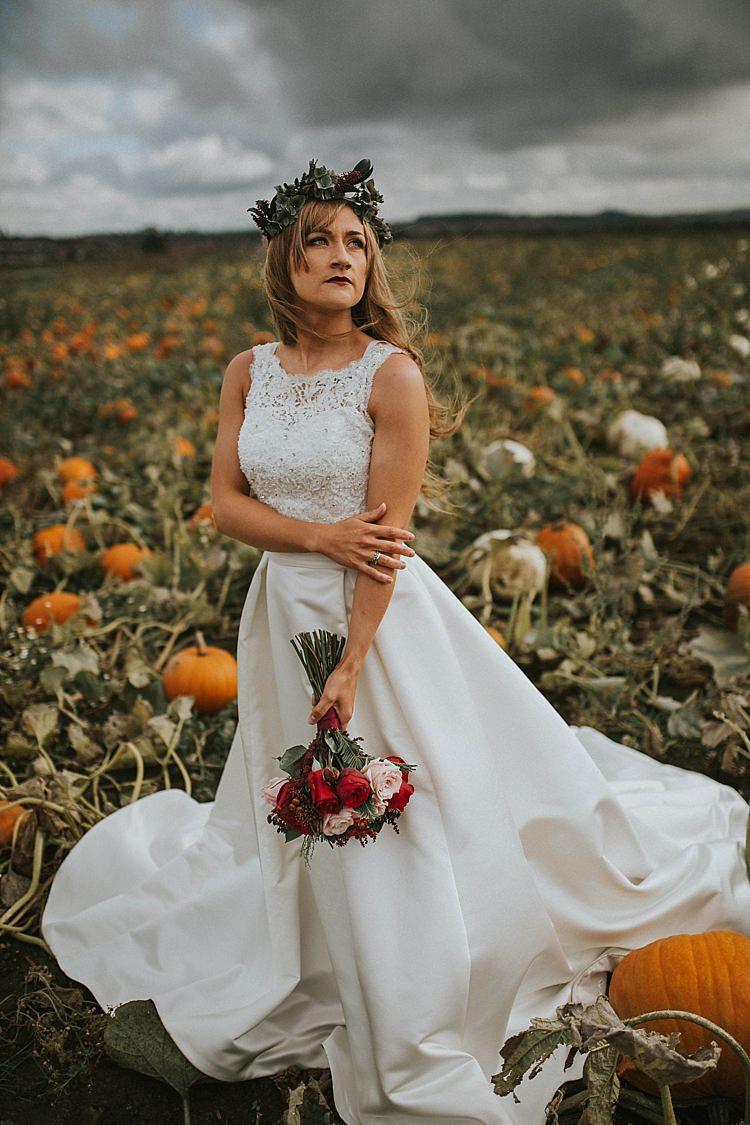Pumpkin Field Autumn Wedding Ideas http://www.jessicajweddingphotography.co.uk/