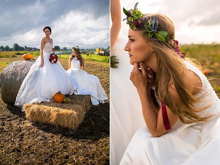 Pumpkin Field Autumn Wedding Ideas http://www.charlottewhiteweddings.co.uk/