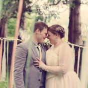 Homespun Mint Yurt Wedding