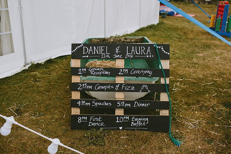 Pallet Sign Black Chalk Board Wooden Beautiful Bohemian Beach Glamping Wedding http://www.thecurries.co/