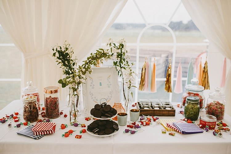 Cake Dessert Sweet Table Beautiful Bohemian Beach Glamping Wedding http://www.thecurries.co/