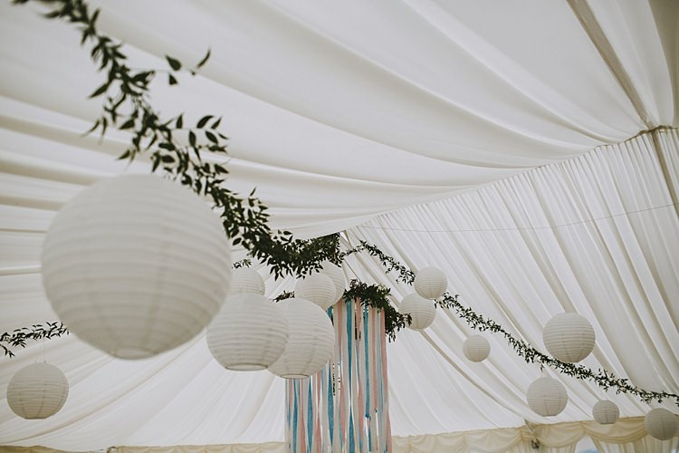 Lanterns Marquee Beautiful Bohemian Beach Glamping Wedding http://www.thecurries.co/