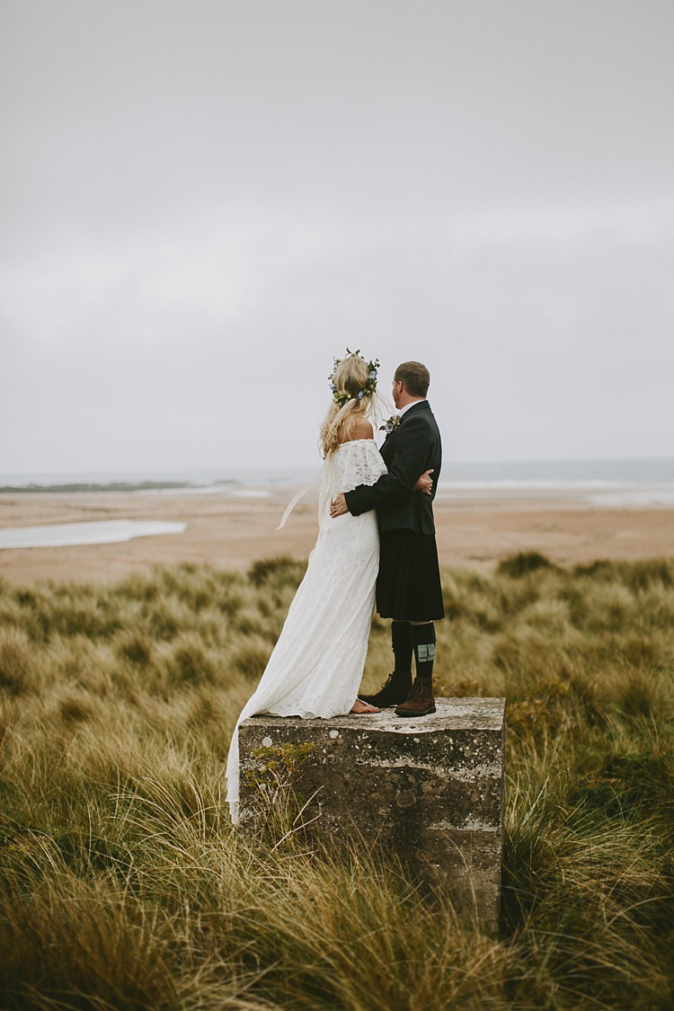 Daughters of Simone Winnie Dress Bride Bridal Gown Boho Beautiful Bohemian Beach Glamping Wedding http://www.thecurries.co/