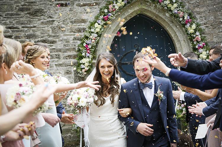Confetti Throw Country Cornish Pastel Beach Wedding http://www.slr-weddingphotography.co.uk/