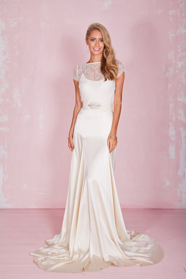 Beatrice Top Belle Skirt Belle & Bunty 2017 Bridal Wedding Dress Collection