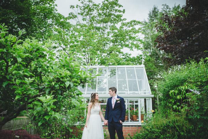 Pretty Pink Floral Garden Wedding https://www.georgimabee.com/