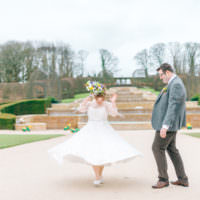 Magical Spring Treehouse Wedding http://sarahjaneethan.co.uk/