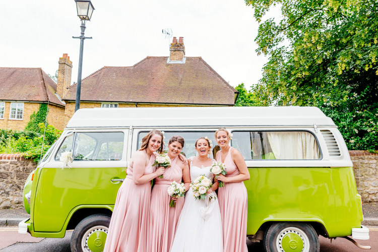 Twobirds Multiway Bridesmaid Dresses Fresh Relaxed Romantic Pink Green Pub Wedding http://www.els-photography.com/