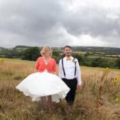 Rustic Outdoor Rural Orange Tipi Wedding
