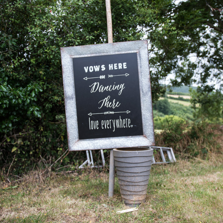 Black Chalk Board Sign Rustic Outdoor Rural Tipi Wedding http://emmastonerweddings.com/