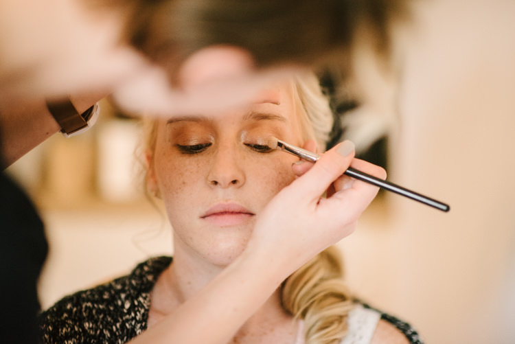 Bride Makeup Artist Preparations Magical Fairytale Forest Wedding Washington http://karissaroe.com/