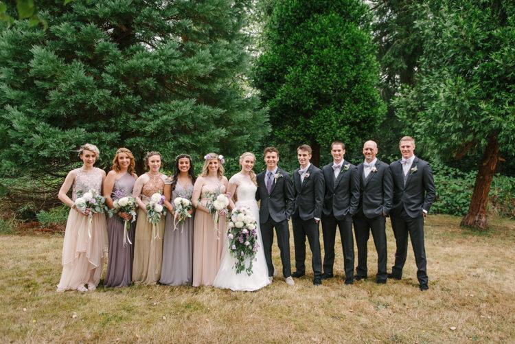 Magical Fairytale Forest Wedding in Washington | Whimsical ...