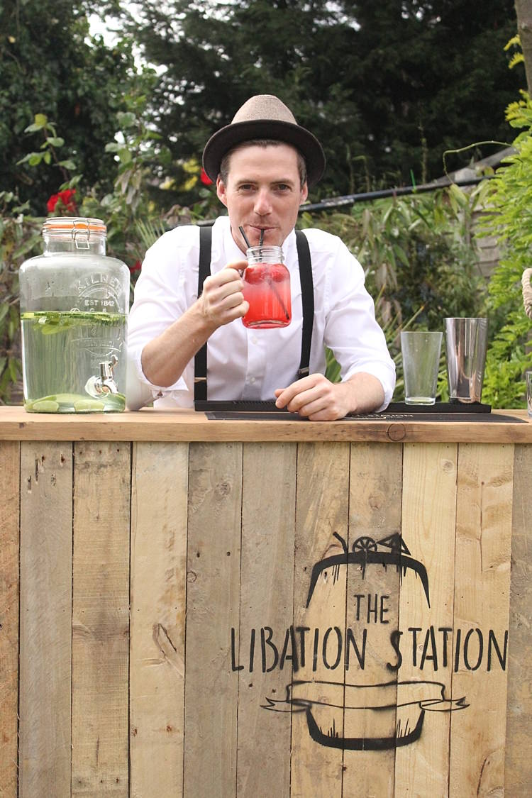 Mobile Wedding Bar Cocktail Rustic Quirky The Libation Station