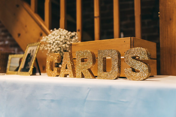 Card Box Wooden Relaxed Boho Barn Wedding http://www.fcphotography.co.uk/