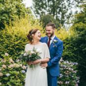 Relaxed & Stylish Boho Barn Wedding