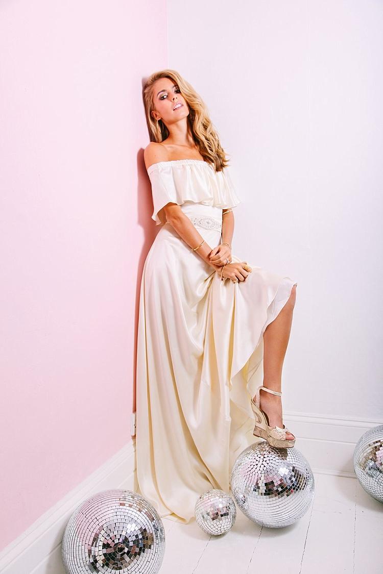 Lily Off Shoulder Belle & Bunty 2017 Bridal Wedding Dress Collection