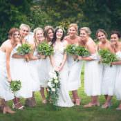 Outdoor Boho Botanical Farm Wedding